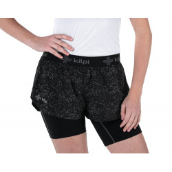 Women's running 2 in 1 shorts Kilpi BERGEN-W